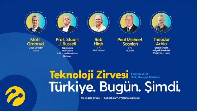 Turkcell teknoloji zirvesi başlıyor!