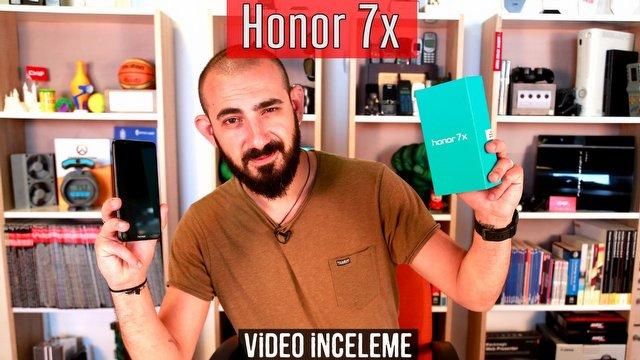 Honor 7X Video İnceleme