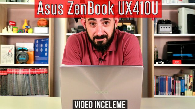 Asus ZenBook UX410U Video İnceleme