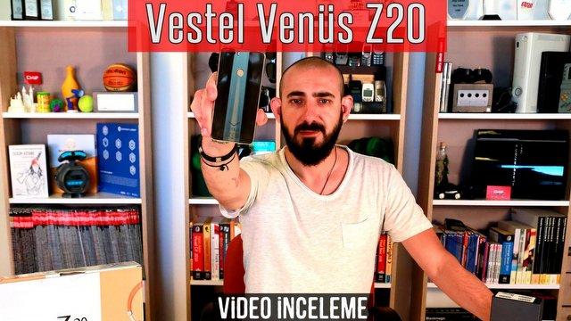 Vestel Venus Z20 Video İnceleme