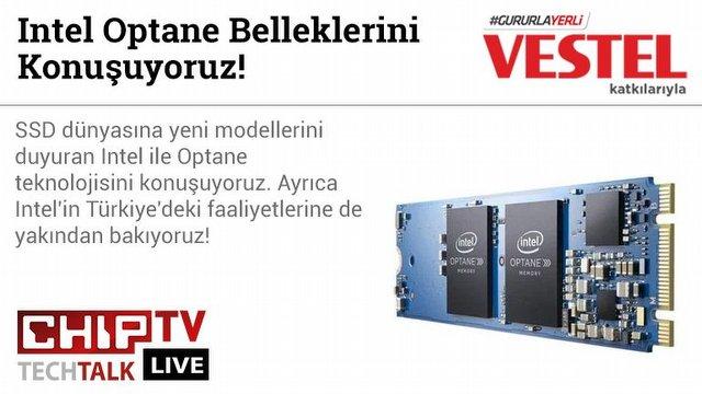 Intel Optane Belleklerini Konuştuk!