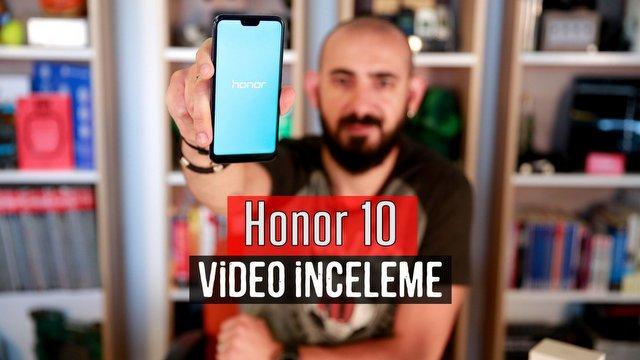 Honor 10 İnceleme Video İnceleme