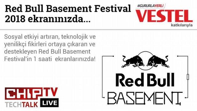 Redbull Basement festival'den canlı yayın