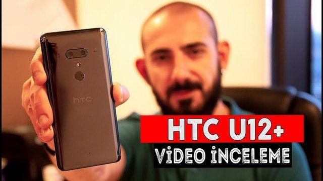 HTC U12+ Video İnceleme