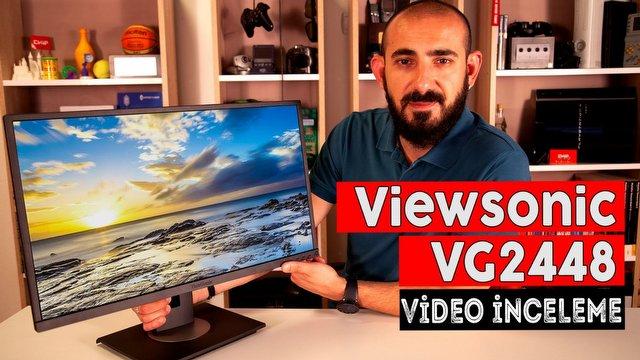 Viewsonic VG2448 Video İnceleme
