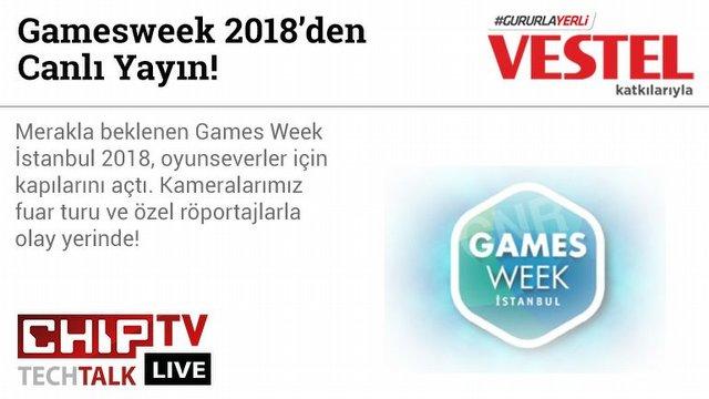Gamesweek kapılarını açtı!