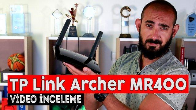 TP-Link Archer MR400 Video İnceleme
