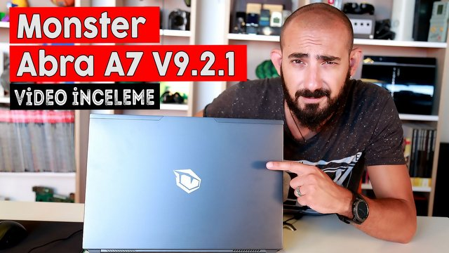 Monster Abra A7 V9.2.1 Video İnceleme