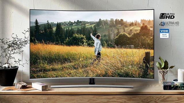 "Samsung 55"" Premium Curved Smart 4K Video İnceleme"
