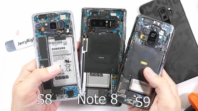 """Samsung Galaxy S9 artık """"çıplak"""" (!)"""