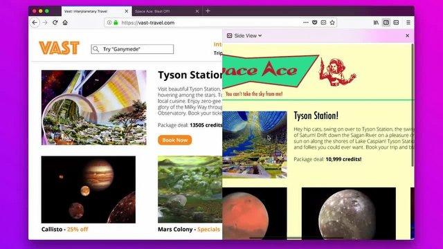 Side View: Firefox İçin Yepyeni Bir Eklenti