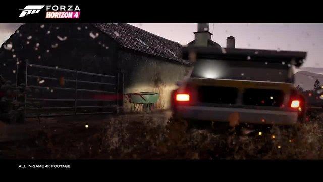 Forza Horizon 4, Dinamik Mevsimlerle Geliyor