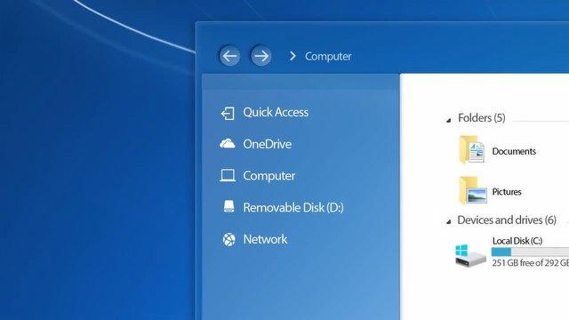Windows 7'yi Modernleştiren İlginç Konsept!