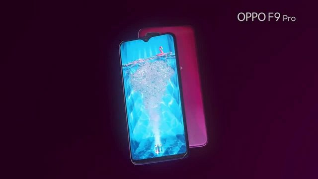 Oppo F9 Pro, Damla Şekilli Çentiğiyle Geliyor