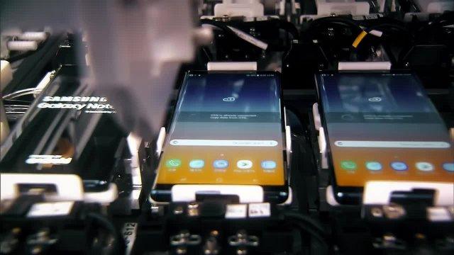 Samsung, Galaxy Note 9 Fabrikasını Gösterdi