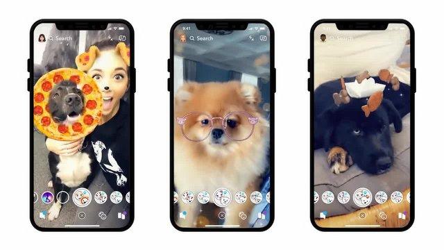 Snapchat'ten Hayvan Severlere Özel Filtreler!