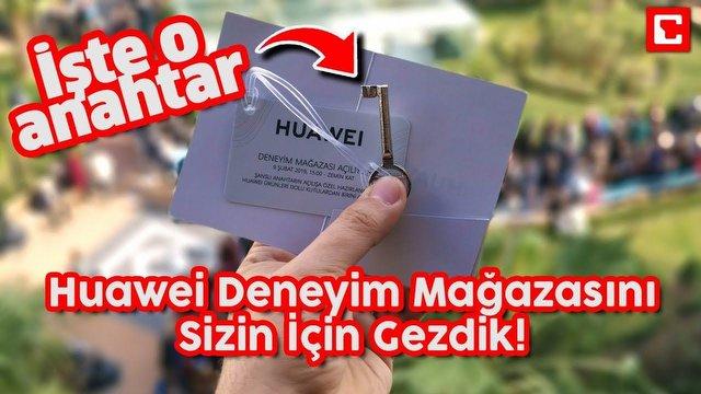 HUAWEI mağazası İzmir'de açıldı