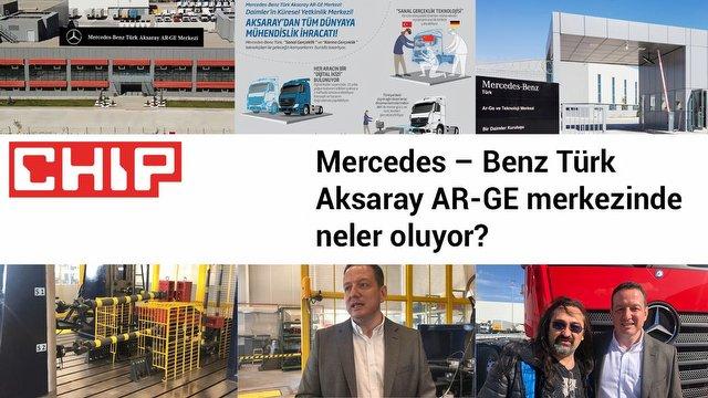 Mercedes – Benz AR-GE merkezinde neler oluyor?