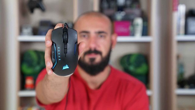 Corsair Glaive RGB Pro Video İnceleme