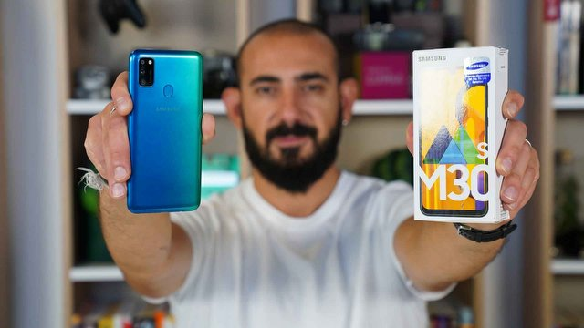 Samsung Galaxy M30s Video İnceleme