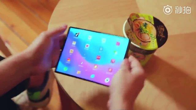 Xiaomi'nin Katlanabilir Telefonu Videoda Göründü!