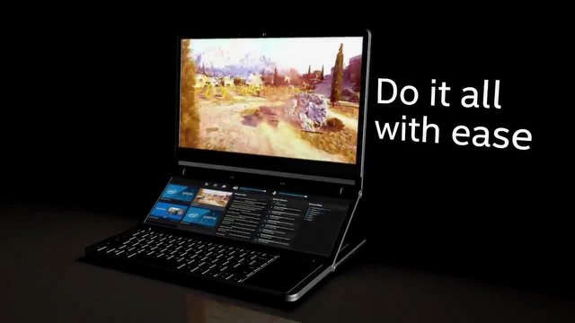 Intel, Çift Ekranlı Honeycomb Glacier'ı Tanıttı