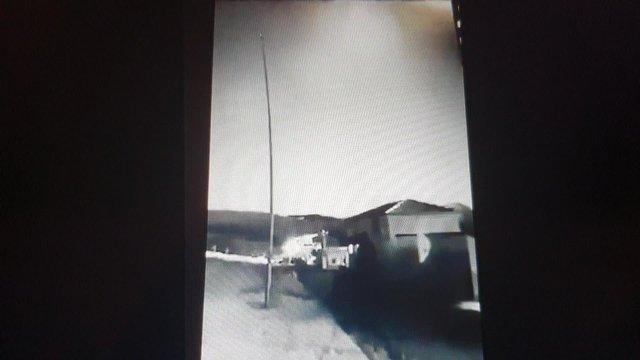 Trabzon'a meteor mu düştü? İşte o video