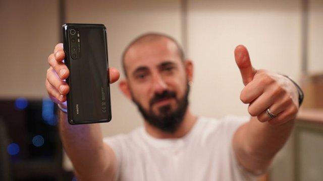 Xiaomi Mi Note 10 lite Video İnceleme