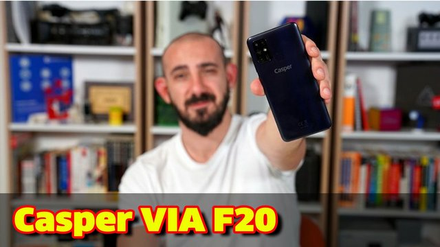 Casper VIA F20 inceleme