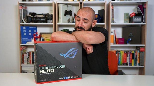 Asus ROG Maximus XIII Hero Video İnceleme