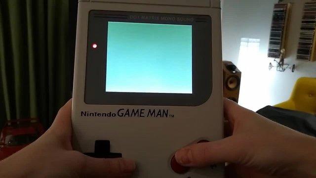Game Boy, 30 Yıl Sonra Büyüdü: İşte Game Man!