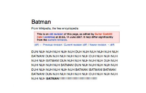 16. Batman