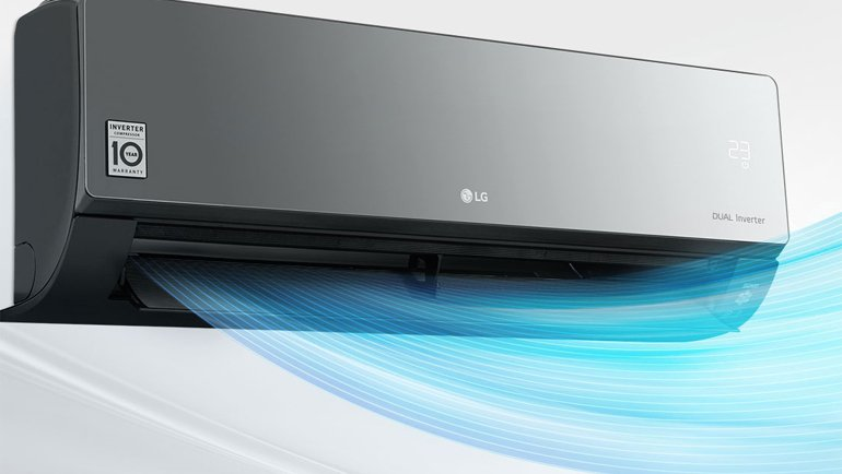 Lg S3 M18klrza Artcool Air Conditioner Review 1000s New