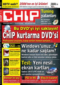 CHIP Dergisi Aralık 2006