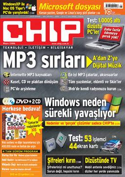 CHIP Dergisi Mayıs 2006