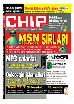 CHIP Dergisi Ağustos 2006