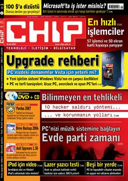 CHIP Dergisi 2007