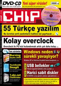 CHIP Dergisi Ekim 2007
