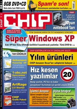CHIP Dergisi Aralık 2007