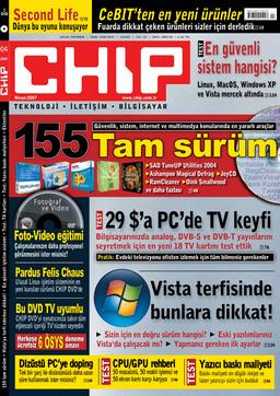 CHIP Dergisi Nisan 2007