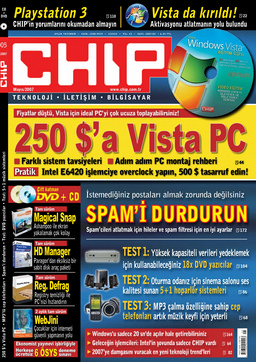 CHIP Dergisi Mayıs 2007