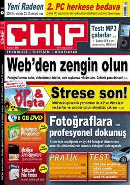 CHIP Dergisi Ağustos 2007