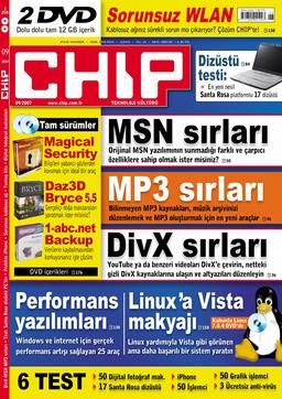 CHIP Dergisi Eylül 2007