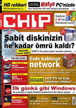 CHIP Dergisi Ocak 2008