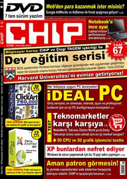 CHIP Dergisi Ekim 2008