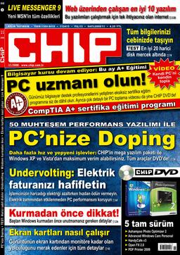 CHIP Dergisi Kasım 2008