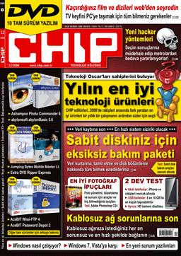 CHIP Dergisi Aralık 2008
