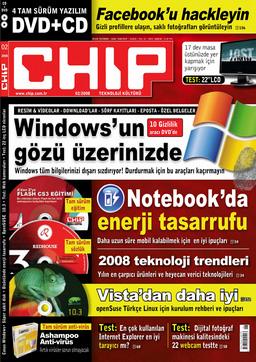 CHIP Dergisi Şubat 2008