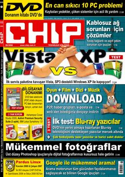 CHIP Dergisi Ağustos 2008
