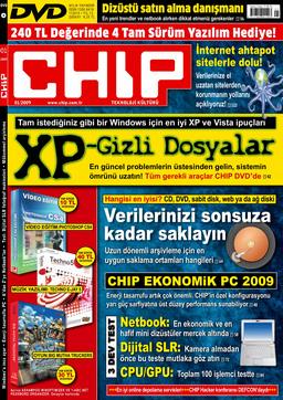 CHIP Dergisi Ocak 2009